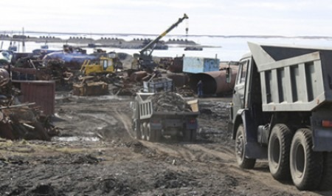 В прошлом году российские военные вывезли из Арктики около трёх тысяч тонн металлолома