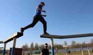 Школьники из Архангельска прошли полосу препятствий спецназа УФСИН