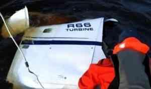 Спасатели продолжают поиски без вести пропавшего пассажира вертолёта, упавшего в районе острова Мудьюг