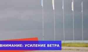 МЧС предупреждает: в Поморье ожидается усиление ветра