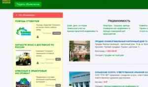 Ассортимент современных онлайн-классифайдов на примере доски объявлений «Птичка»