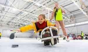 В Архангельске создадут детскую команду по слэдж-хоккею