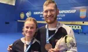 Поморский стрелок Леонид Екимов завоевал бронзу чемпионата Европы