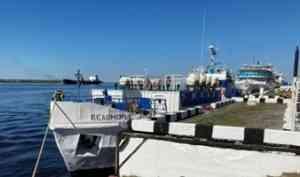 Теплоход «Беломорье» начал летнюю навигацию