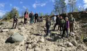Студенты-геологи побывали в экспедиции  в Онежском районе Архангельской области