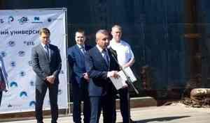 Ваге Петросян пожелал Арктическому плавучему университету семь футов под килем