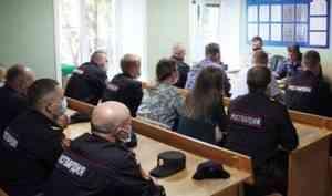 Начальник Управления Росгвардии по Архангельской области проверил работу подчинённых подразделений