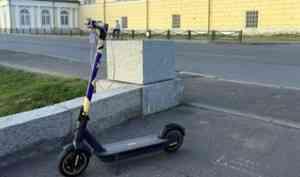 В Архангельске отмечен ажиотажный спрос на кикшеринг