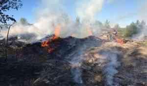 В Няндоме за выходные произошло три пожара на пилораме