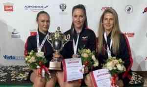 Поморские спортсменки взяли бронзу на чемпионате по настольному теннису