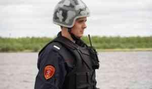 В Северодвинске сотрудники Росгвардии задержали подозреваемого в краже товара