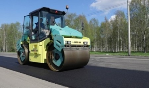 На двух объектах дорожного нацпроекта в Северодвинске завершены основные работы