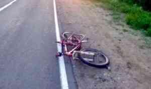 Юная велосипедистка погибла под колесами грузового автомобиля в Холмогорском районе