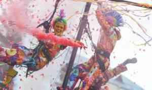 В столице Поморья стартовал фестиваль уличных театров