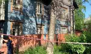 Прокуратура Архангельска начала проверку по факту схода со свай дома номер 25 по улице Титова