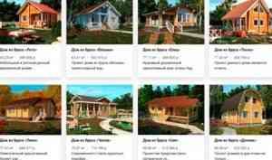 Достоинство домов из бруса