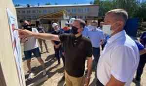 Александр Цыбульский находится в рабочей поездке в Каргополе