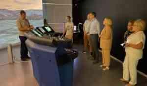 Sitronics KTпредставил тренажер безэкипажного судовождения для IT-парка Digital Arctic