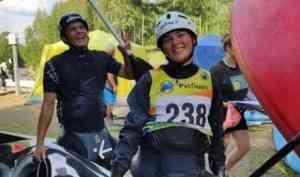 Архангельские каноисты завоевали серебро национального первенства по слалому