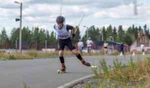Представители САФУ стали призерами областных соревнований по лыжероллерам