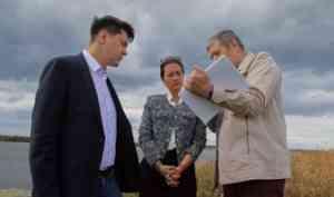 «Лидер России» Александр Спиридонов обратился в минкульт Поморья с инициативой восстановления Новодвинской крепости