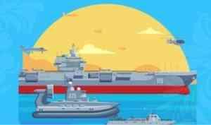 Поморье отметит День Военно-Морского Флота России тематической культурной программой