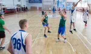 Северодвинцы - победители областного турнира по баскетболу