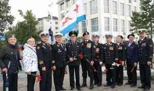 В Архангельске ветераны войск национальной гвардии приняли участие в торжественных мероприятиях в честь Дня Военно-Морского Флота России