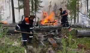 В Якутии за сутки ликвидировали 34 пожара