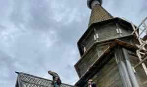 «Общее дело» продолжает спасать храм XVIII столетия в холмогорской глубинке
