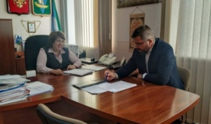 Дмитрий Рожин и Валентина Рудкина обсудили вопросы развития Приморского района