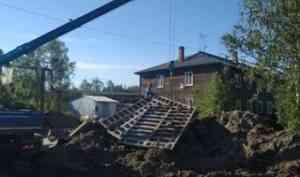 Строительство новых объектов водоснабжения в деревне Большое Анисимово и поселке Лайский Док идет по графику