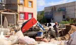 Строительство детского сада в округе Майская горка снова отстает от графика