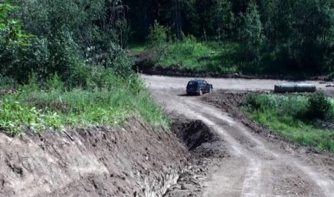 В Холмогорском районе активисты местного ТОСа построили дорогу