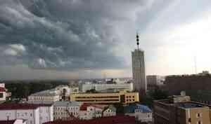 30 июля в Архангельске будет тепло и дождливо
