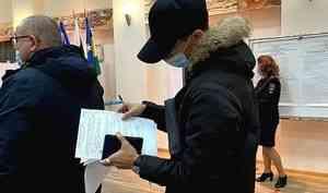 Избирательные участки Поморья обеспечены средствами индивидуальной защиты