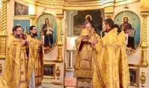 Митрополит Корнилий: Господь по молитвам Архистратига Михаила да сохранит нас в мире