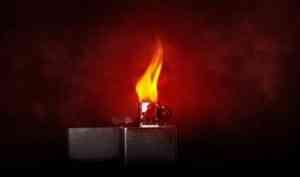 В Плесецком районе при пожаре в жилом доме погиб мужчина