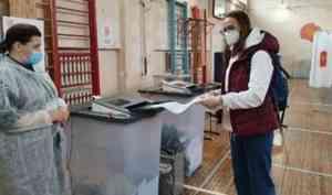 Северодвинск опережает Архангельск по активности избирателей на выборах в Госдуму