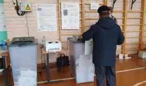 На избирательные участки пока пришли меньше трети жителей Архангельской области