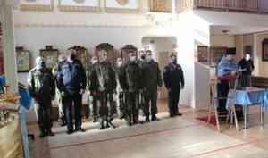 Северодвинские военные помолились святому Иосифу Волоцкому — покровителю войск материально-технического обеспечения