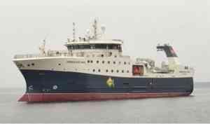 Архангельским рыбакам передан современный траулер-процессор «Норвежское море»