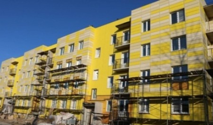 В Новодвинске завершается строительство социального дома
