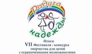 «Радуга надежды»: подведены итоги областного фестиваля-конкурса для особенных детей