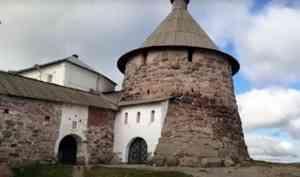 На Соловках завершилась реставрация Никольской башни кремля