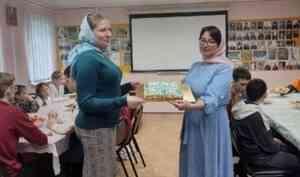 Молитва, радость и торт: возобновились занятия в школе архангельского Всехсвятского храма