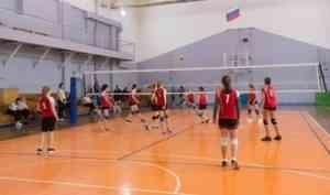 Победителями первенства региона по волейболу стали команды Архангельска