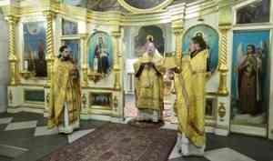 Митрополит Корнилий 24 октября совершил Литургию в Архангельске