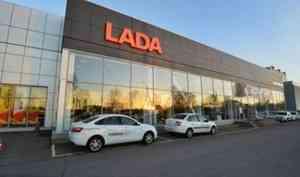 Продажи автомобилей LADA вПетербурге выросли на27%