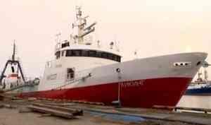 Около пятисот тонн рыбы доставили впорт «Архангельск»